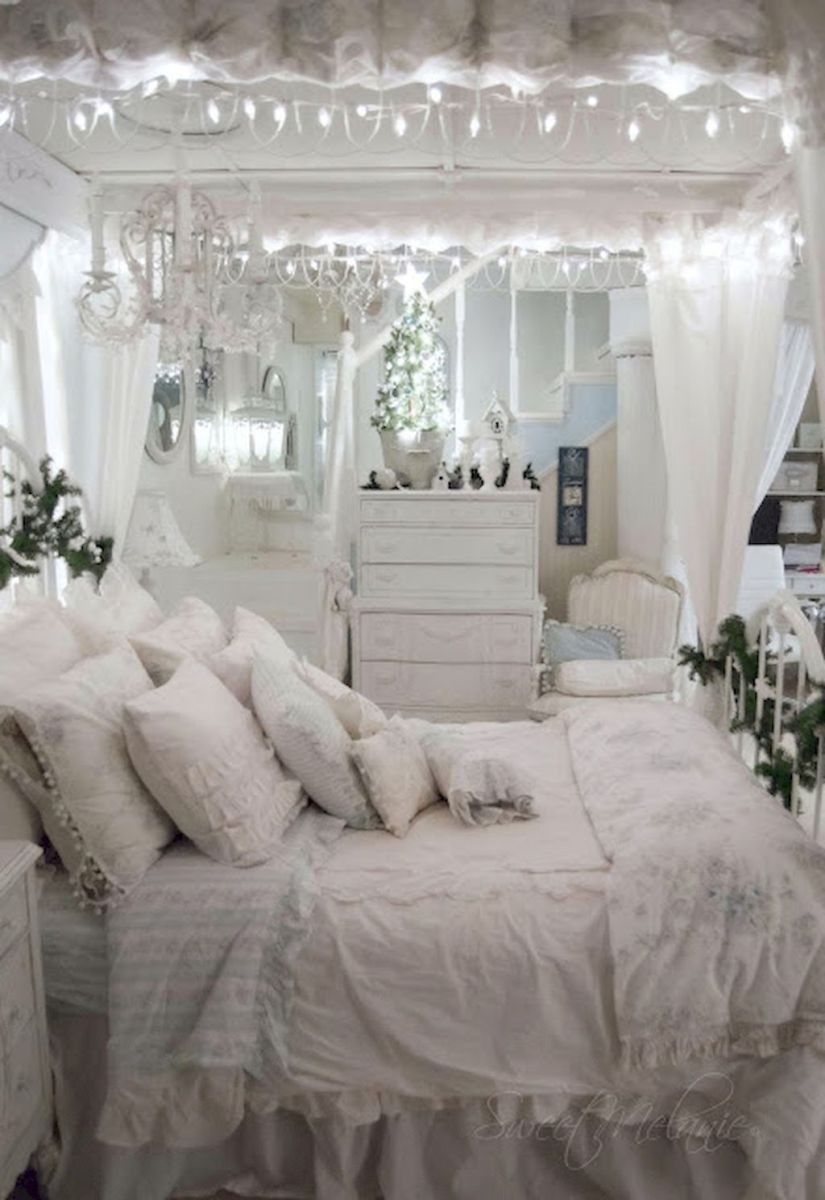 Romantic Shabby Chic Bedroom Decor And Furniture Inspirations 11