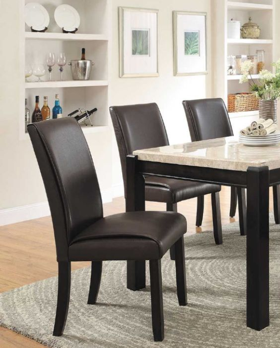 Luga 7 Piece Dining Set Marble Dining Table Set Marble Top