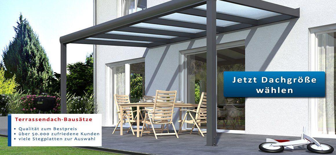 Terrassenuberdachungen Aus Holz Oder Alu Stegplatten Und Plexiglas