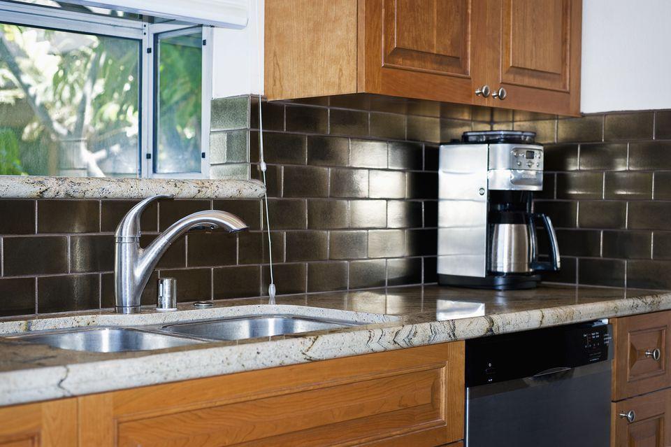 12 Corrugated Metal Kitchen Backsplash Inspiration In 2020 With Images Peel N Stick Backsplash Home Depot Backsplash Installing Backsplash Tile