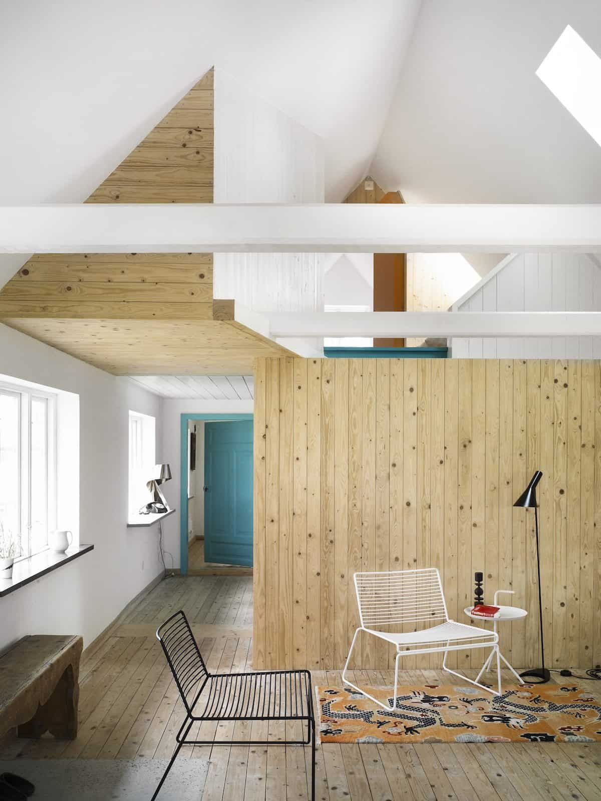 The cheery swedish summer season cottage by lasc studio is a fresh and fun modern day dream residence embracing modest scandinavian style located in skåne