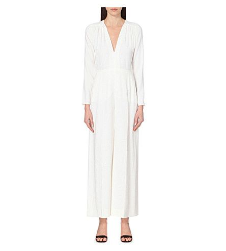 STELLA MCCARTNEY Stretch-Crepe Jumpsuit. #stellamccartney #cloth #jumpsuits & playsuits