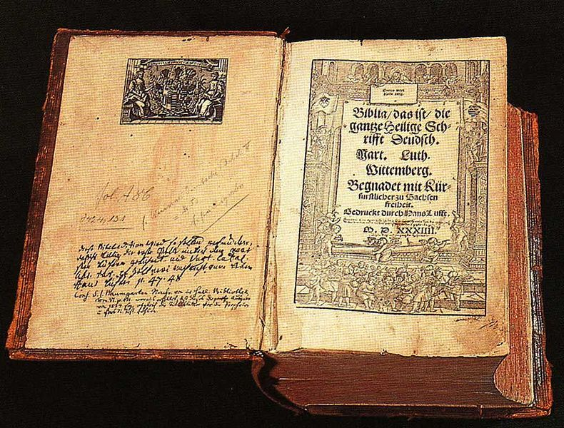 The Bible - I'm hoping this is a picture of an old one - wish mine looked like this!