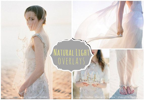 55 Natural Sun Light Photoshop Overlays: Backlight Photo Layer, Digital Backdrop for Photographers, Fairy Glow Effect Diffused Romantic Rays #backdropsforphotographs