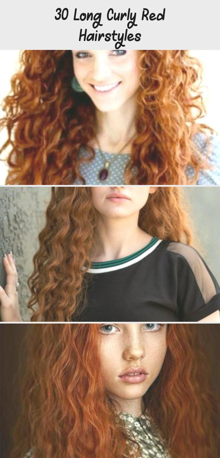 30 Long Curly Red Hairstyles Curly Hairstyles Hairstylesmenpeinadoshombrecorto Hairstylesmenarmy H In 2020 Hair Styles Curly Hair Styles Naturally Red Curly Hair