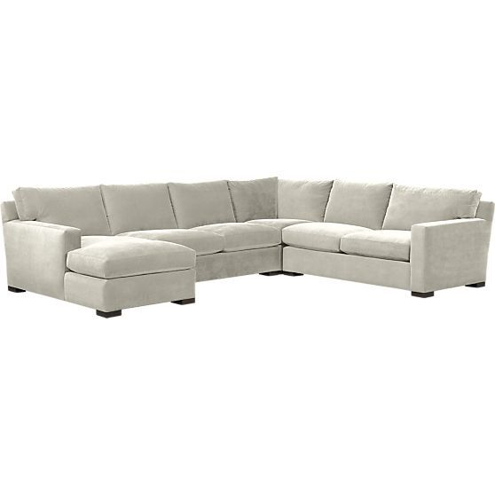 Axis Ii 4 Piece Sectional Sofa Cambridge Living Room In