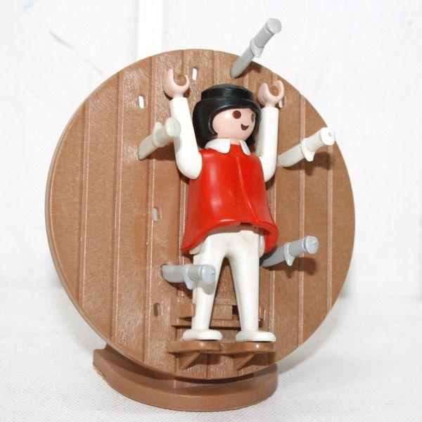 Roue du lanceur de couteaux vintage - Play-Original
