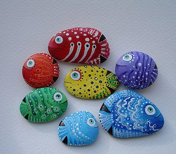 35 diy ideas of painted rocks rock painting round rock