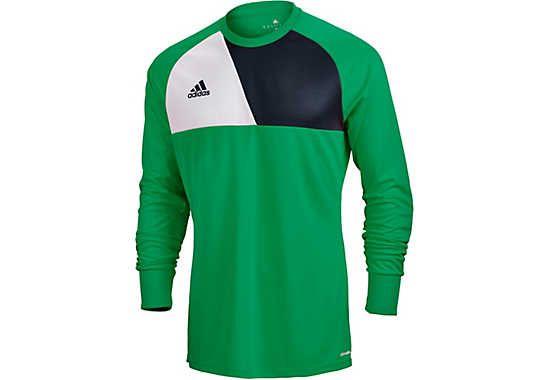 309e6006cc6 Now in green, adidas Assita 17 Goalkeeper Jersey. Buy it from  www.socceerpro.com