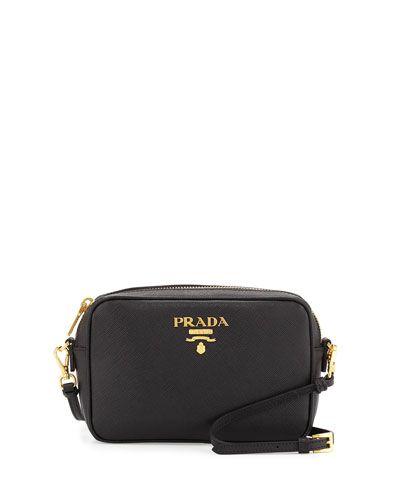 PRADA Small Saffiano Camera Crossbody Bag 081946c53a4
