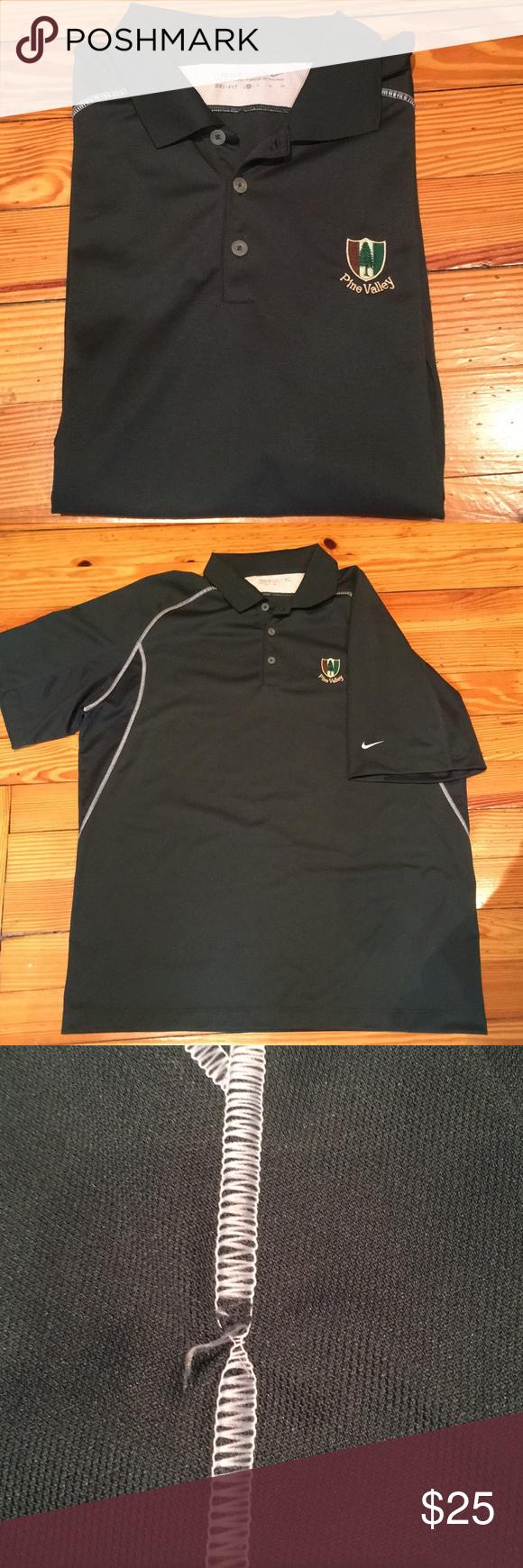 Men's Nike XL Pine Valley Golf Shirt   Golf shirts, Nike ...