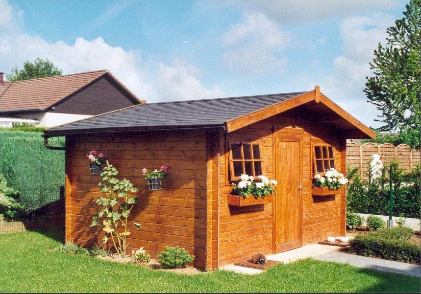 Fabrication d\'abris de jardin en bois sur mesure de qualité. Grand ...