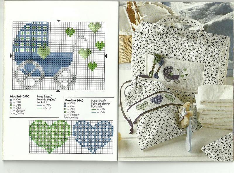 grilles gratuites motifs bebes enfants - Page 2   Modèles de point de croix bébé, Point de croix ...