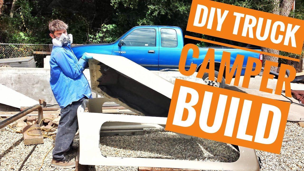 Ep.4 Diy Truck Camper Build Pt.1 (Travel Vlog) Truck bed