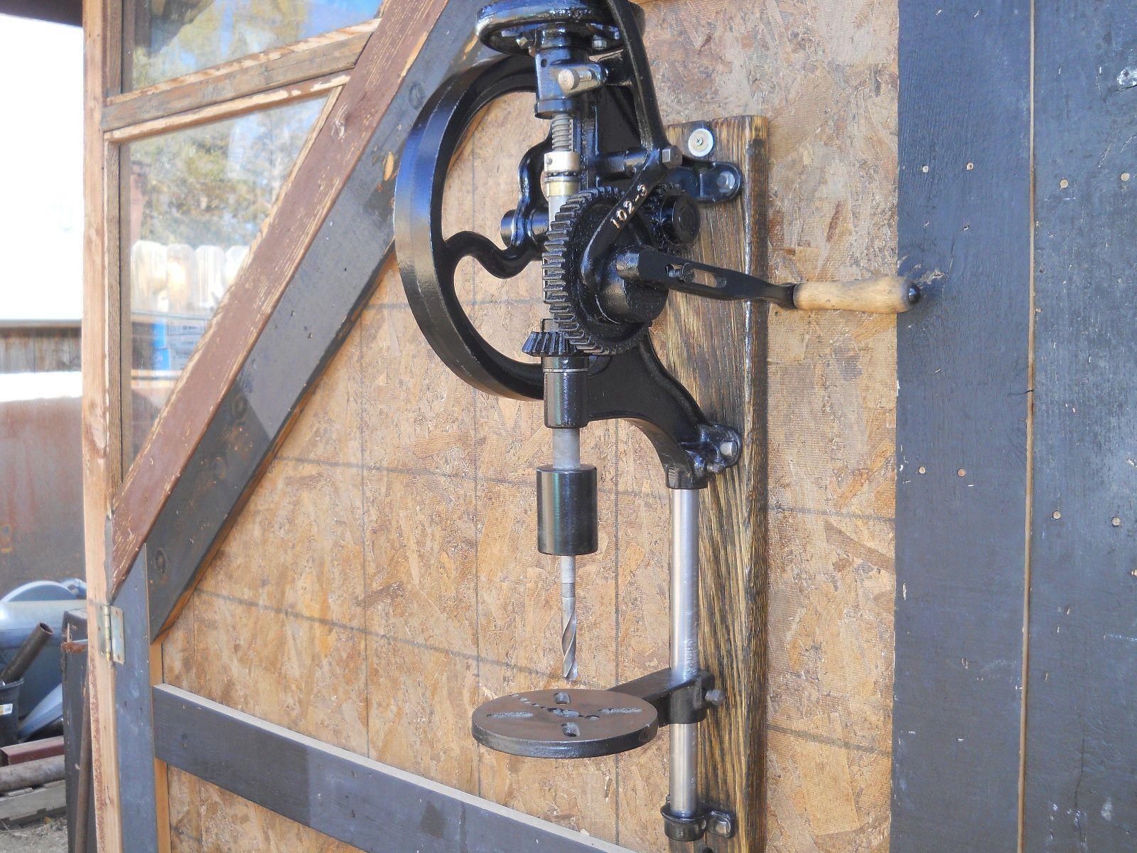champion forge blower. vtg champion blower \u0026 forge co. post drill press restored blacksmithing antique t