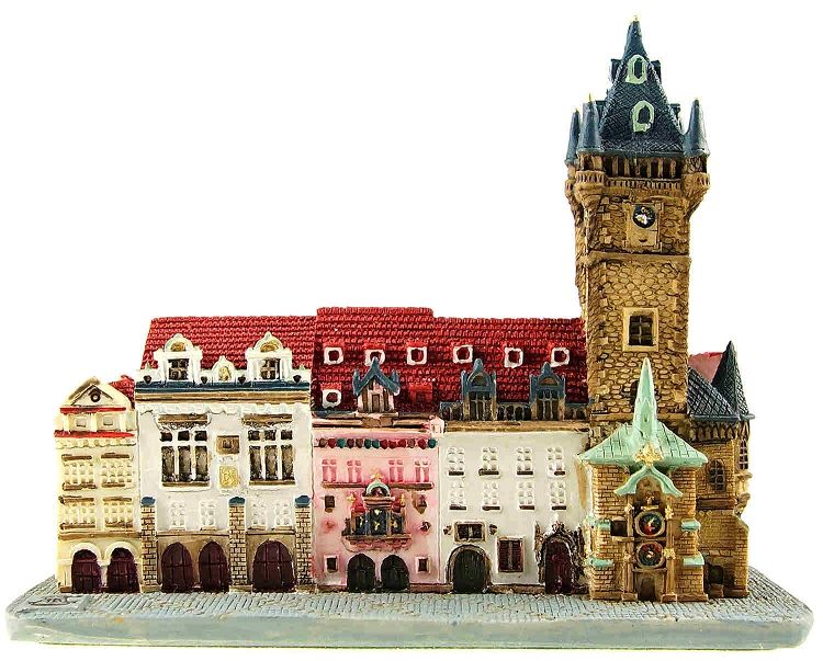 Ceramic model of Prague Old Town Hall in 2019   All things ...