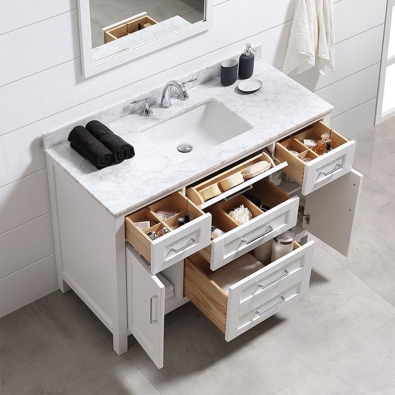 Tahoe 48 Single Bathroom Vanity Set With Mirror Single Bathroom