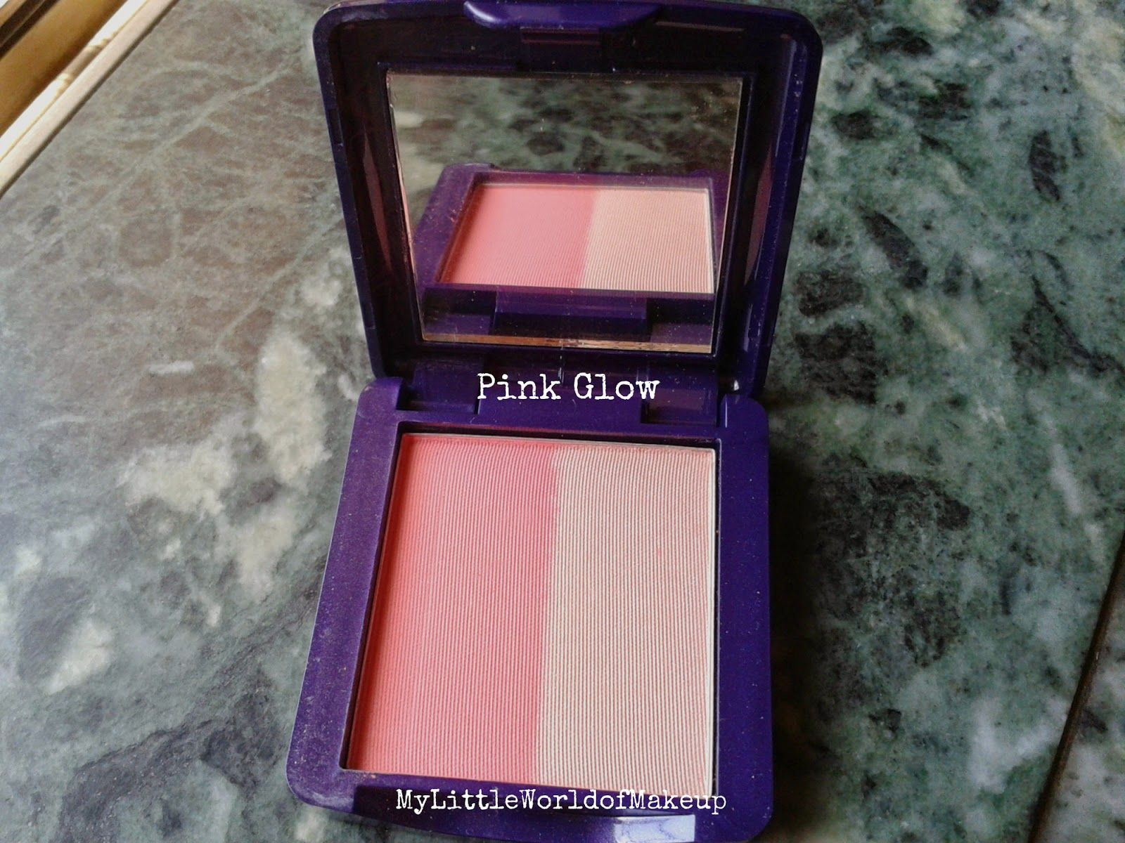 My Little World of Make up: Oriflame - The One illuskin Blush in Pink Glow Rev...