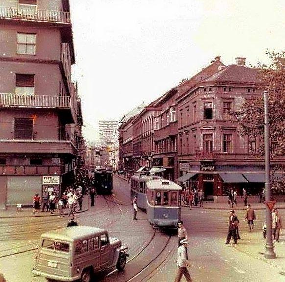 Zagreb 1957 Draskoviceva Jurisiceva Zagreb Croatia Zagreb Croatia