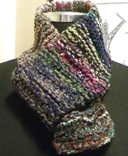 Beginner Scarf Knitting Pattern Using Only Knit Purl Stitches