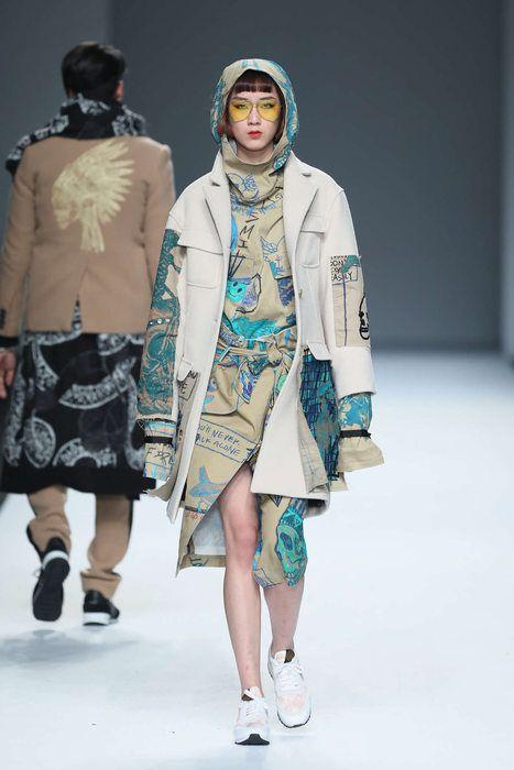 Daniel Wong, Fall-Winter 2017, Shanghai, Womenswear