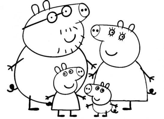 Peppa Pig coloring - Google keresés | Hímezhető, festhető rajzok ...