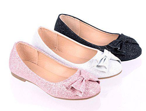 Fashion Glitter Bowknot Slip-on Cute…