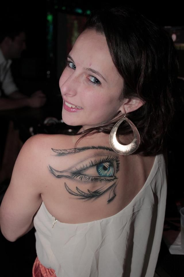 40 incredible ancient egyptian eye of ra tattoos - sun god horus