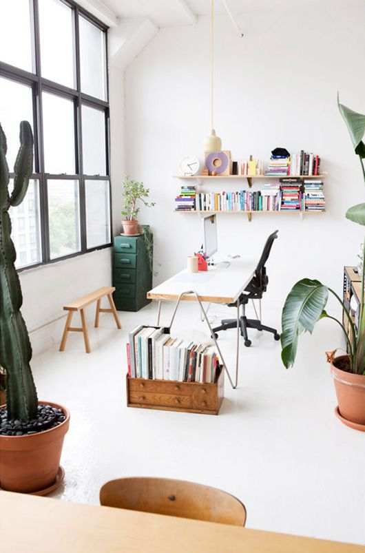 creative workspace photographed by sarah e. elliott. / sfgirlbybay
