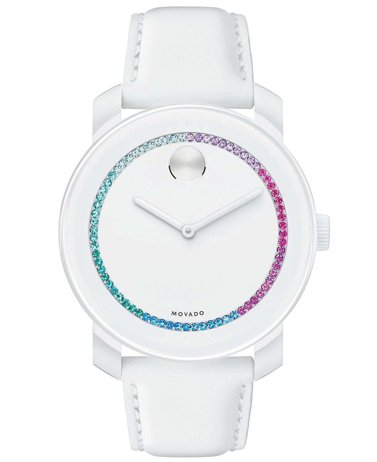 guess product watch micro mini watches white ladies womens