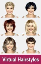 Try On Hairstyles Httpswwwhairfinderindexhtm  Kampaukset  Pinterest  Software