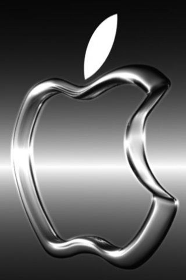 Silver iphone background hd 3d for Silver 3d wallpaper