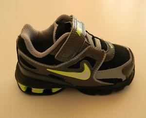 Newborn Baby Boy Nike Shoes | New Baby Boy Nike REAX Run Dominate BT Shoes  Gray