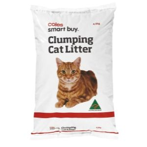 Cat Litter Clumping coles brand, apparently this is made