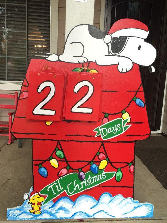 snoopy christmas charlie brown christmas snoopy cutout holiday yard snoopy christmas lawn - Charlie Brown Christmas Decorations