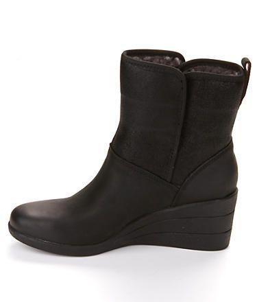 c41d76db958e UGG Australia Renatta Waterproof Wedge Booties Shoes 1008021 at  BareNecessities.com