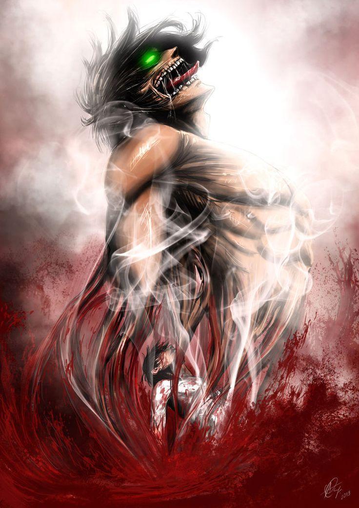 Eren Yeager - Shingeki no Kyojin / Attack on Titan,Anime ...