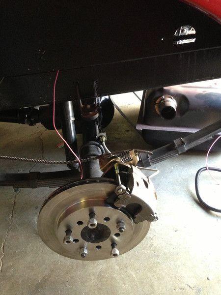 Scout 800 Rear Disc Brake Conversion   International