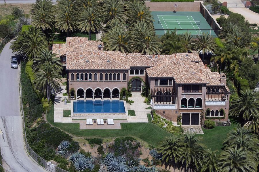 Celebrity Homes Celebrity Houses 6 Location Of Most