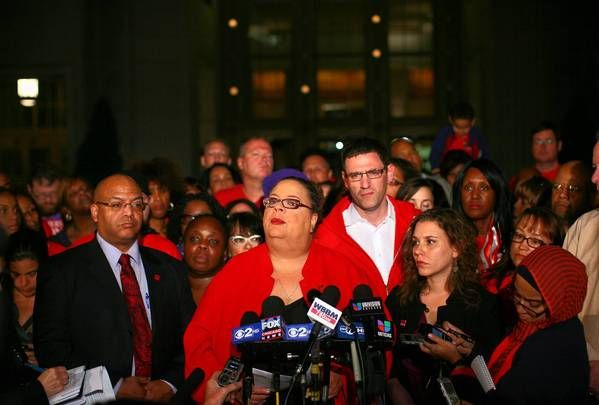 Why We're Striking in Chicago  'Join Our Fight for Education Justice,' says CTU President Karen Lewis