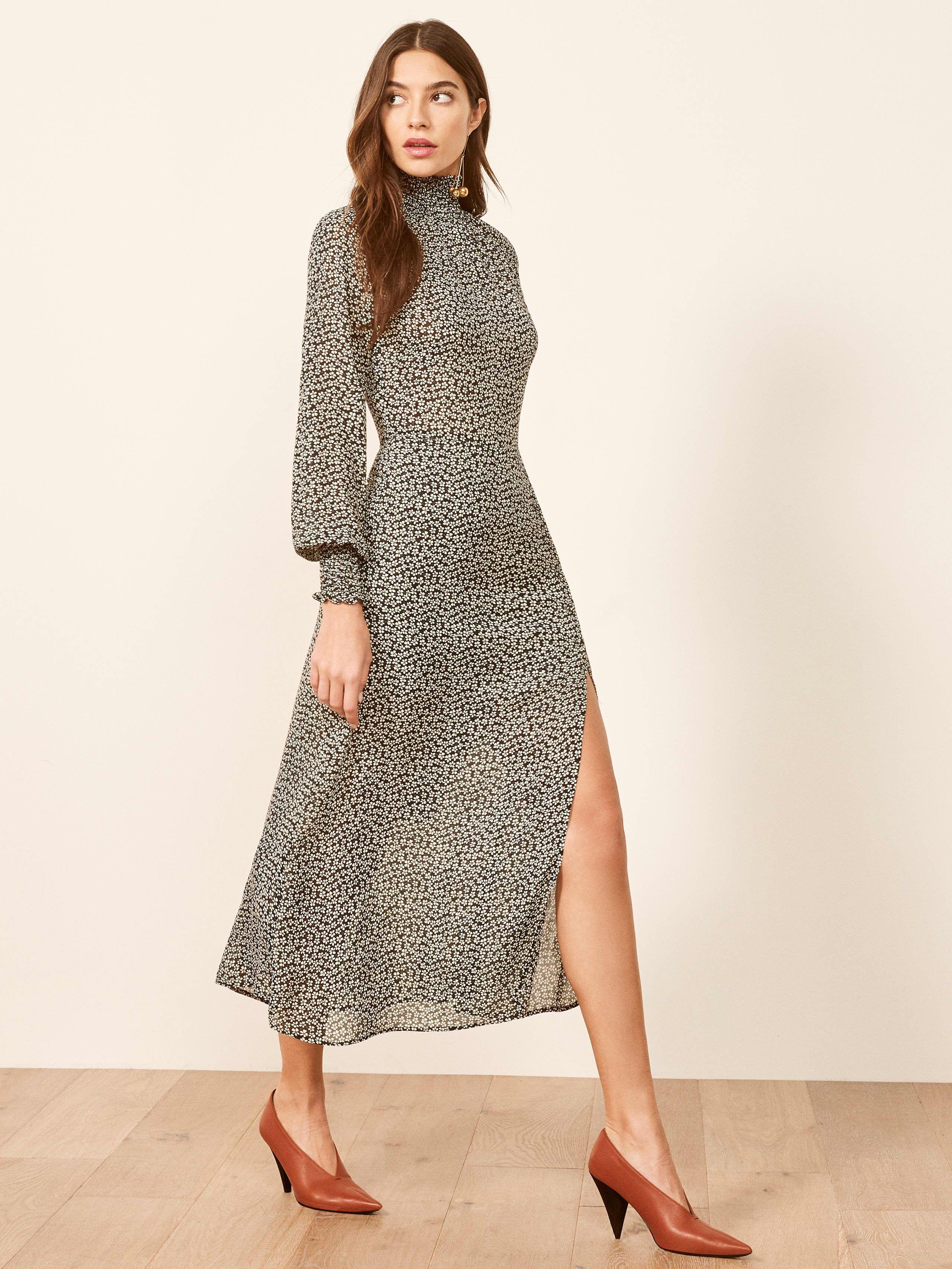 43bd3de616d 17 Long-Sleeve Midi Dresses For Your Winter Wardrobe Consideration   refinery29 https