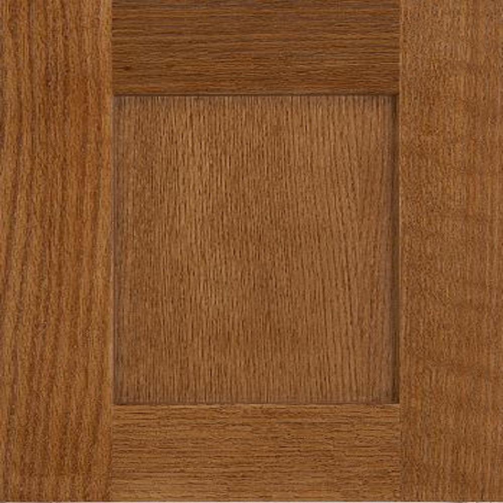 Innermost 14x12 In Kingston Qsn Oak Cabinet Door Sample In Chestnut Kng Qsn Ok Chst The Home Depot Oak Cabinets Cabinet Doors Oak