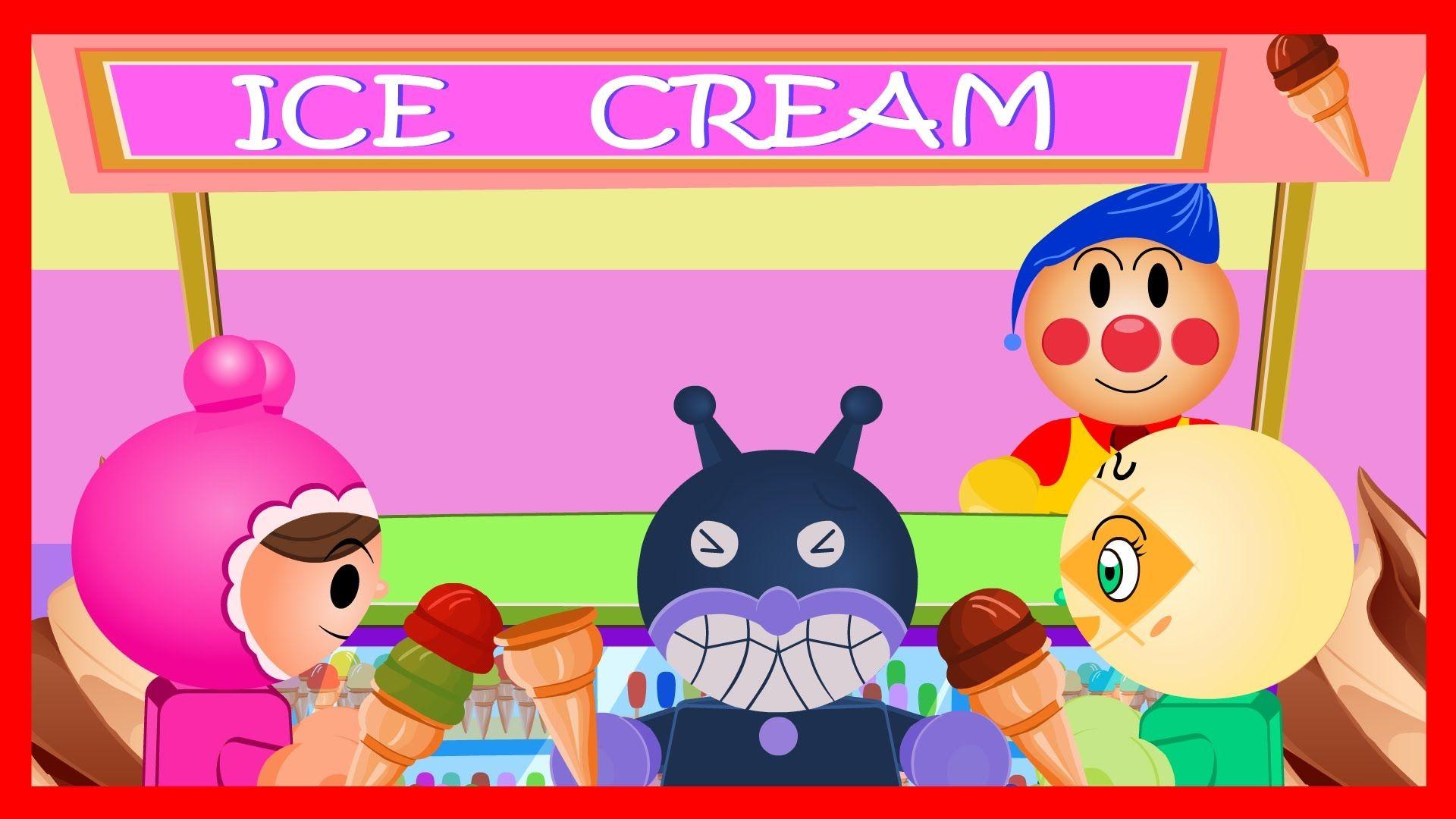 Anpanman Toys Anime Episode 31 Anpanman Ice Cream Shop