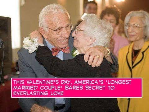 America's 'longest married couple' bares secret to everlasting love   For Good News