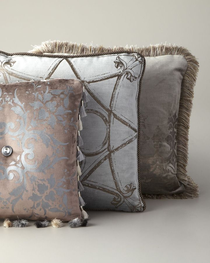 Baroque Decorative Pillows at Horchow