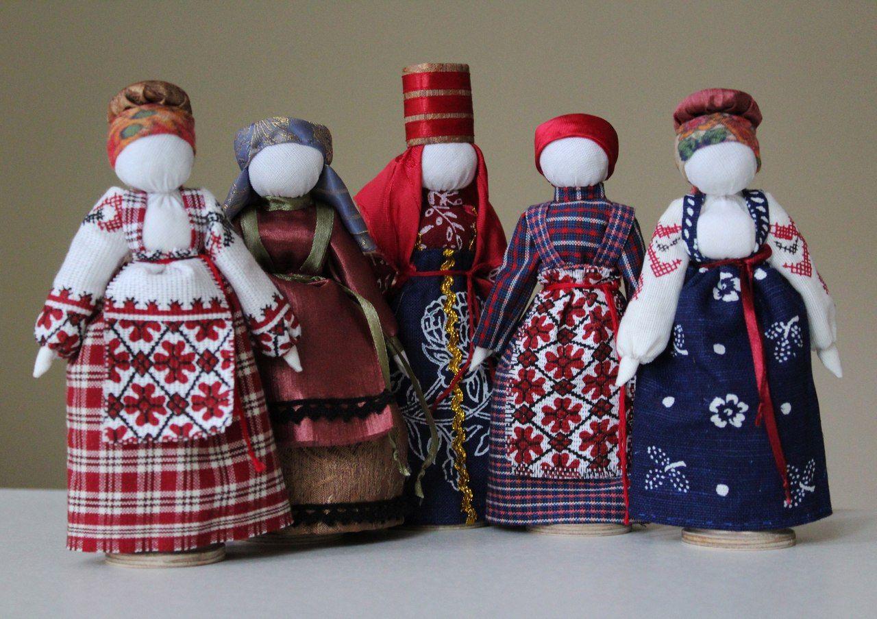Картинки русских народных кукол своими руками