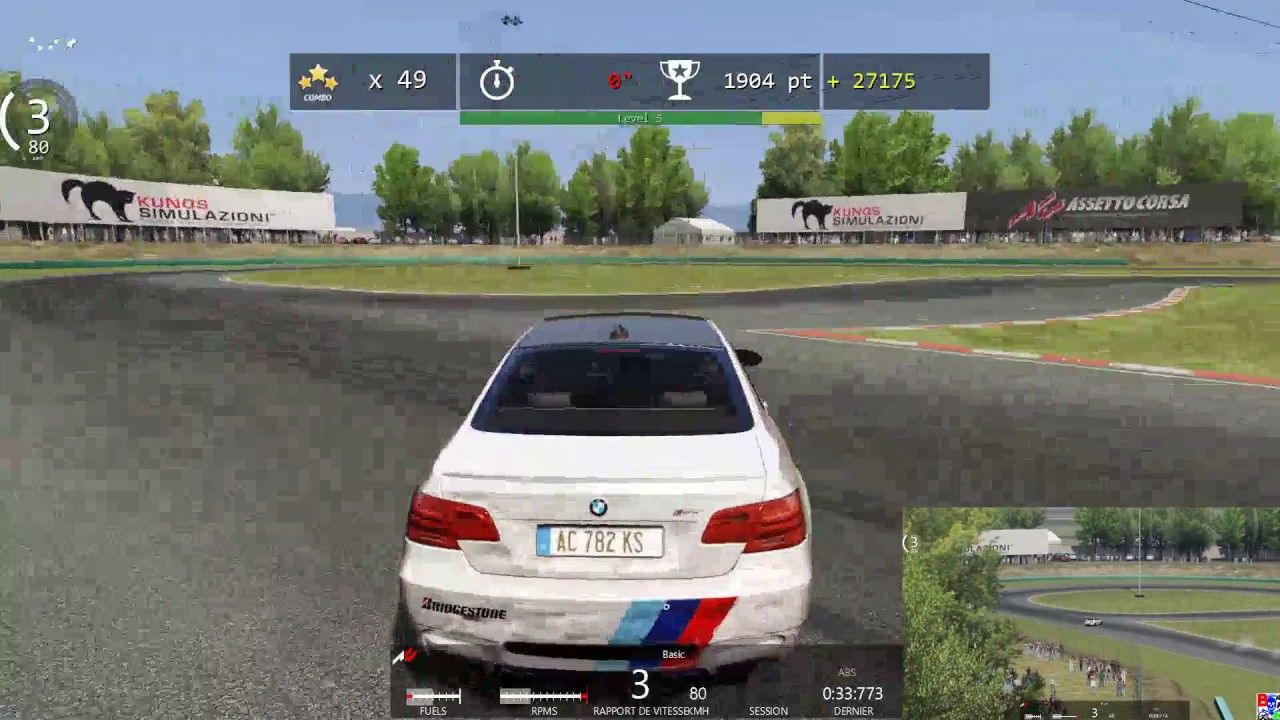 Assetto Corsa Bmw M3 E92 Drift Events Clouds Of Smoke Gold With
