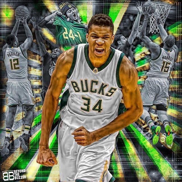 Milwaukee Bucks Giannis Antetokounmpo Nba artwork