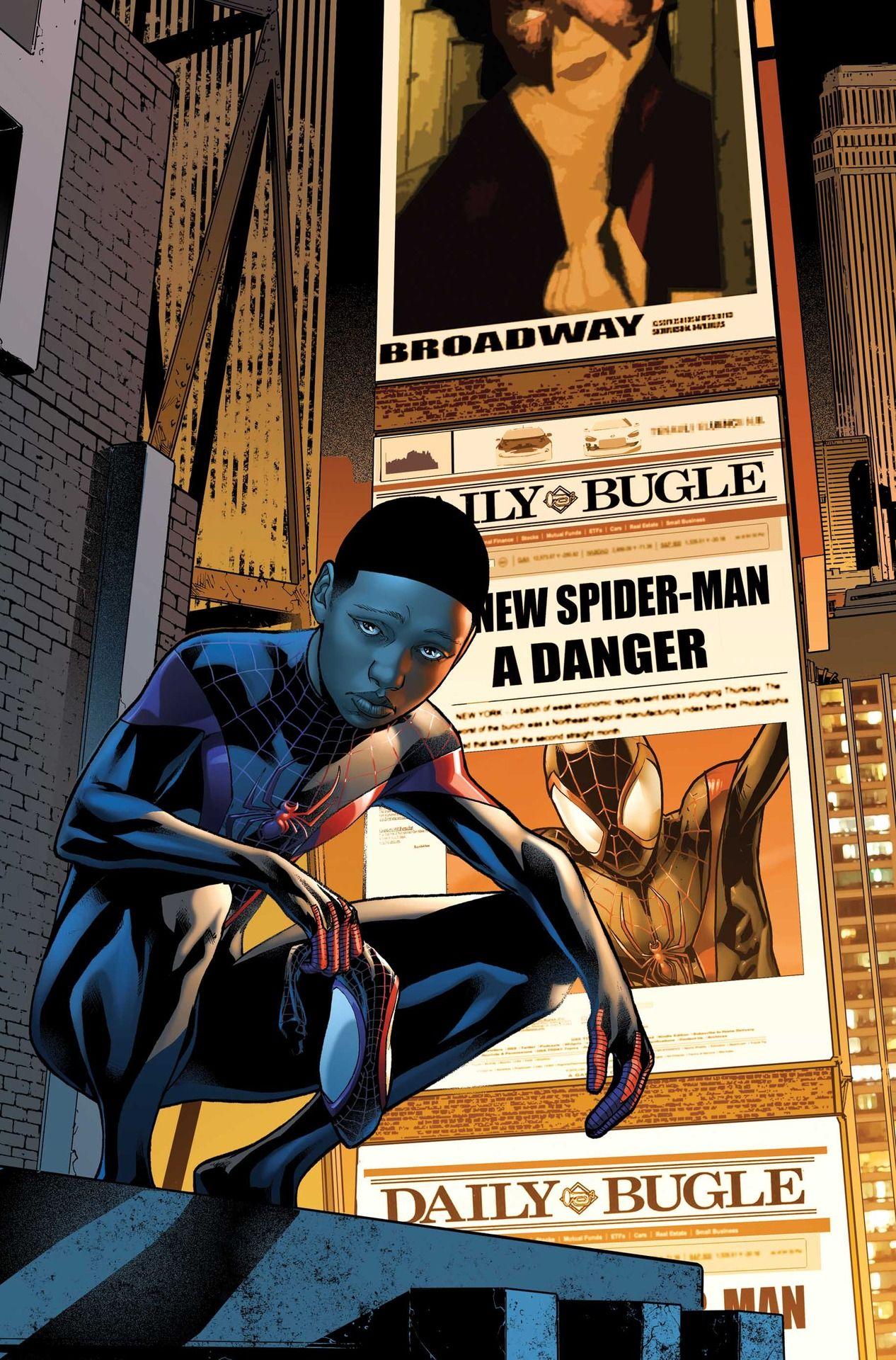miles morales comic book