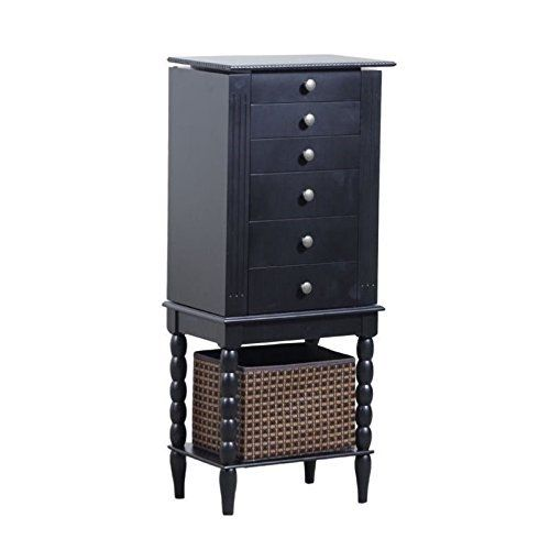 Kleiderschränke Amazon Powell Furniture Alanis Jewelry Armoire In Black By Powell ...